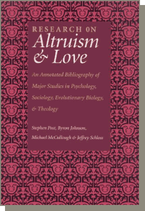 Book: Research on Altruism & Love